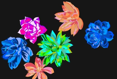 makin' progress on those neon plants!